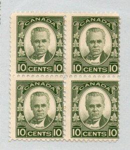 Canada - Unitrade# 190 MNH Block of (4)      /      Lot 0121609
