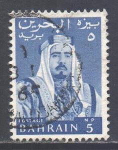 Bahrain Scott 130 - SG128, 1964 Sheik 5np used