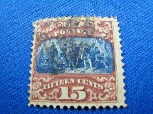 UNITED STATES, 1869 SCOTT #119 -  USED