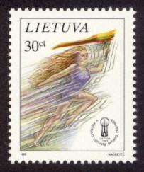 Lithuania Sc# 518 MNH 5th World Sports Games