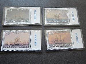 Yugoslavia 1998 Sc 2421-24 ship set MNH
