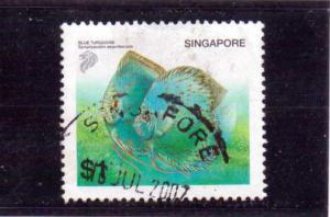 Singapore  Scott#  1018  Used