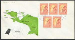 NETHERLANDS NEW GUINEA 1961 cover STEENKOOL cds............................52862