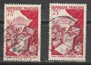 #715 France Used lot of 2