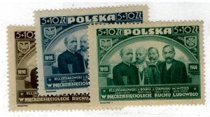 Poland SC B50-B52 Mint F-VF...Popular Country!