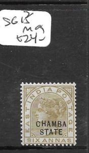 INDIA  CHAMBA (PP3108B)  QV 6A  SG13  MOG