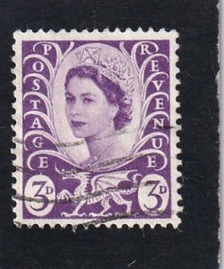 Great Britain,  Wales & Monmouthshire,  #  1   used
