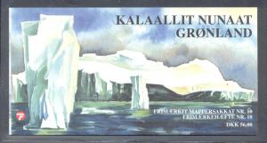 Greenland 2002 Ships stamp booklet mint NH