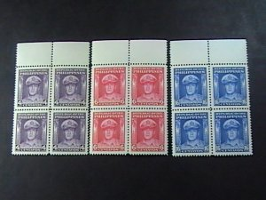 PHILIPPINES # 519-520-MINT/NEVER HINGED---COMPLETE SET IN BLOCKS OF 4---1948