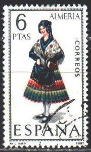 Spain. 1967. 1681. Almeria, national costume. USED.