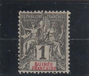 French Guinea  Scott#  1  MH  (1892 Navigation & Commerce)