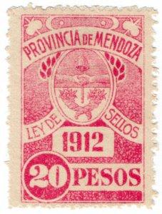 (I.B) Argentina Revenue : Mendoza Local Tax 20P