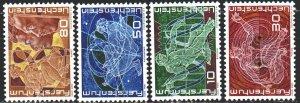 Liechtenstein. 1969. 508-11. 250 years of Liechtenstein, achievements. MNH.