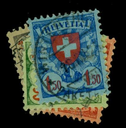 Switzerland #200-3 Used F-VF Cat$21.25