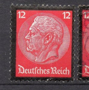 Saar 1933-36 Early Issue Fine Mint Hinged 12pf. NW-104875