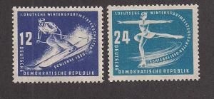 GERMANY - DDR SC# 51-2 F-VF MNH 1950