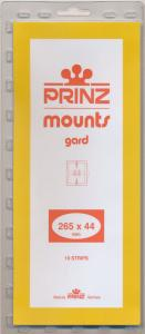 Prinz Scott Stamp Mount 44/265 CLEAR Background Pack of 10