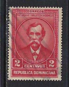 DOMINICAN REPUBLIC 312 VFU J1019-1