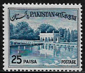 Pakistan #136 MNH Stamp - Shalimar Gardens