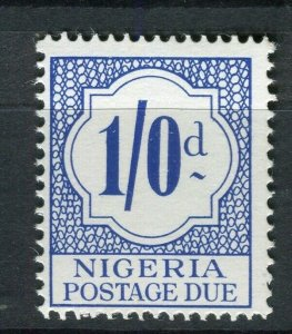 NIGERIA; 1961 early QEII Postage Due issue Mint MNH 1s. value