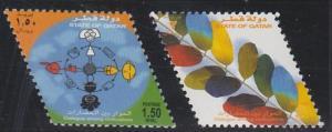 Qatar 950-951 MNH (2001)