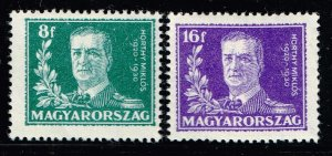HUNGARY STAMP 1930 The 10th Anniversary of the Regency of Admiral Horthy MH/OG