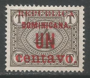 DOMINICAN REPUBLIC 169 MNG Z3324