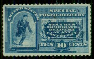 US #E2, 10¢ Spec. Delivery, unused no gum, VF, Scott $500.00