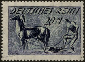 Germany Weimar Inflation Mi176b Expertized  Infla Berlin MNH 103871