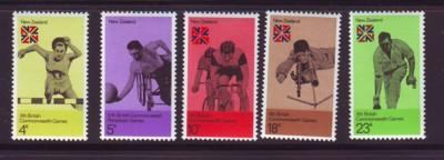 New Zealand Sc 547-1 1974 Commonwealth Games NH