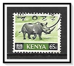 Kenya #27 Black Rhinoceros Used