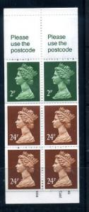 Booklet MH126b Mint opened
