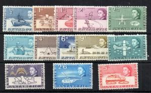 British Antarctic Territory 1963 mint LHM set to 5/- #1-13 WS13877