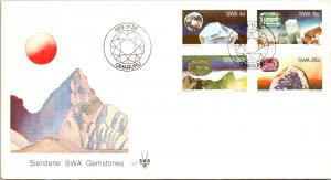 South West Africa, Worldwide First Day Cover, Minerals