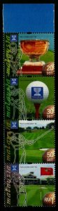 MALAYSIA SG810a 1999 WORLD CUP GOLF CHAMPIONSHIP MNH