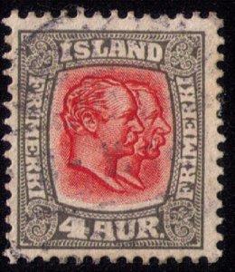 Iceland Sc #73 Used F-VF