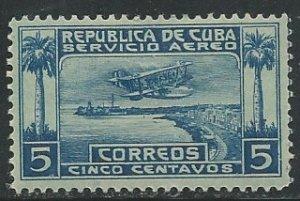 Cuba || Scott # C1 - MH