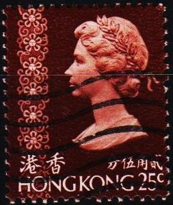Hong Kong. 1973 25c S.G.286 Fine Used