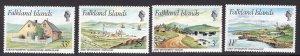 FALKLAND ISLANDS SCOTT 310-313