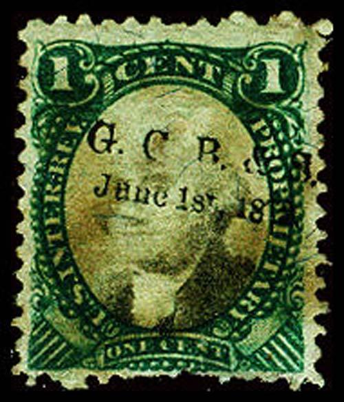 U.S. REV. PROPRIETARY RB1a  Used (ID # 24954)