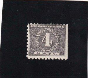 4c Proprietary Tax Stamp, #RB41, MNH (42143)