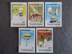 Norfolk Island #347-51 Mint Never Hinged- (4DC) WDWPhilatelic