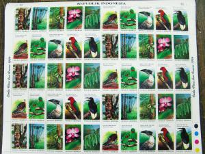 Indonesia Stamps # 1592 Lot Of 22 Sheets