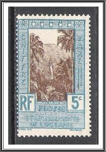 French Polynesia #J10 Postage Due NG