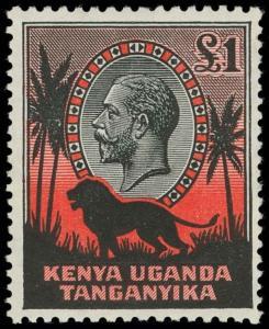 Kenya, Uganda and Tanganyika Scott 46-59 Gibbons 110-123 Mint Set of Stamps
