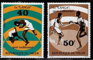 Niger Scott 472-473 MNH** stamp set
