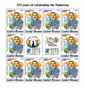 Z08 GB191010c GUINEA BISSAU 2019 Mahatma Gandhi MNH ** Postfrisch