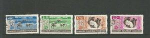 Zanzibar 1965 Agricultural Development Used Set SG 452/455