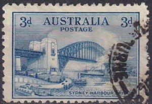 Australia #131  F-VF Used  CV $4.00 (Z2795)