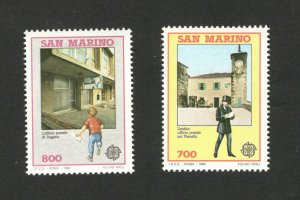 EUROPA CEPT-MNH** - SET- SAN MARINO - 1990.